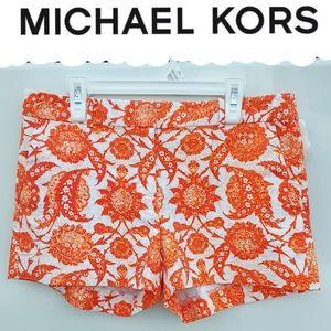 MICHAEL KORS Floral Shorts NWOT